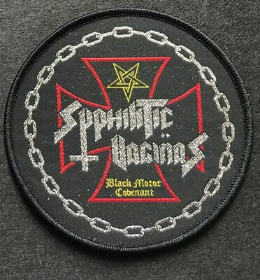 "Syphilitic Vaginas ‎""Black Motor Covenant Black Patch abigail-tragedy-gauze-doom"