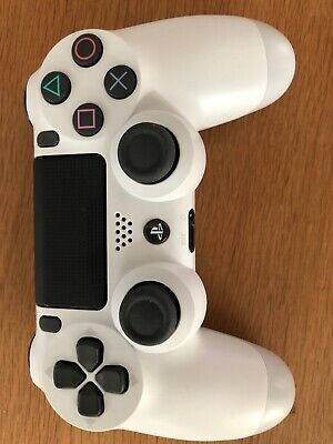 Official Genuine Sony Playstation 4 Ps4 Controller Gamepad White Dualshock 4 -