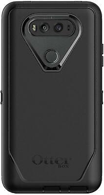 OtterBox Defender Series Case & Clip Holster LG V20, Black Easy Open Box