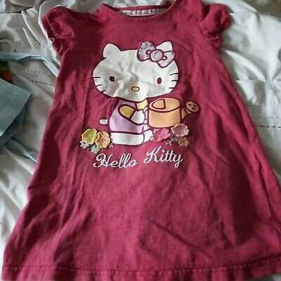 girls pyjamas hello kitty age 4-5 marks & spencer   #look##