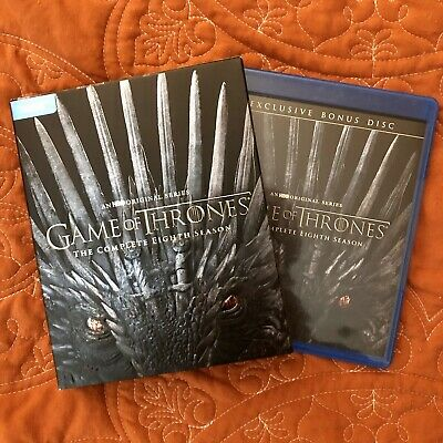 Game Of Thrones Season 8 Blu-ray (no Digital) BRAND NEW