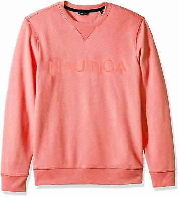 Nautica Men's Long Sleeve Crew Neck French Terry S - Choose SZ/color