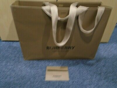 Burberry Store Bag and Envelope