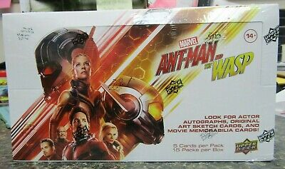 2018 Ant-Man and The Wasp Hobby Box Sealed Upper Deck