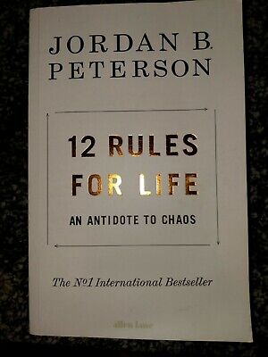 12 Rules for Life: An Antidote to Chaos. Jordan Peterson. Paperback. FREE SHIP!