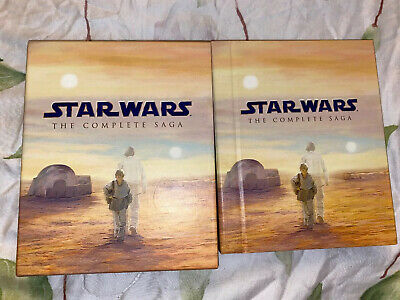 Star Wars The Complete Saga Blu-ray Disc 2011 9 Disc Set Original 1st Issue Mint