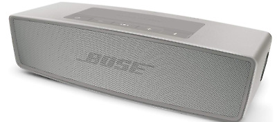 Bose SoundLink Mini II 725192-1310 Pearl Silver Bluetooth Speaker Sound Link