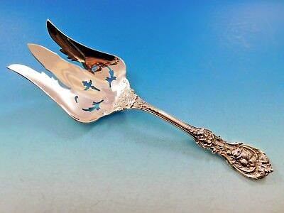 """Francis I Old by Reed & Barton Sterling Silver Salad Serving Fork Pierced 9 5/8"""""""