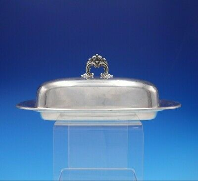 Francis I by Reed and Barton Sterling Silver Butter Dish with Lid #X568 (#3322)