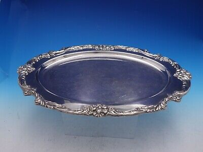 Francis I Old by Reed & Barton Vintage Silverplate Tea Tray #1676 (#4202)