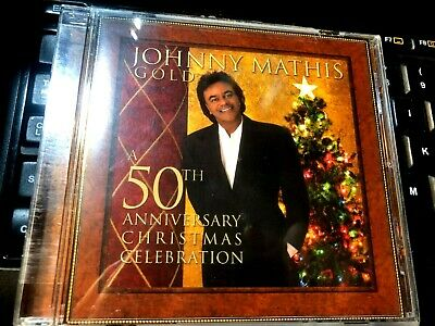 Gold: A 50th Anniversary Christmas Celebration by Johnny Mathis (CD pop vocal