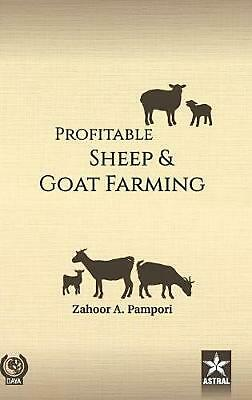 Profitable Sheep and Goat Farming by Z.A. Pampori Hardcover Book Free Shipping!