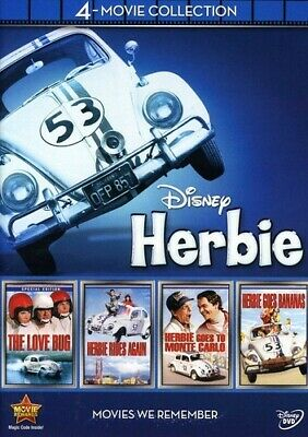 Disney Herbie: 4 -Movie Collection (4Pc) New Dvd