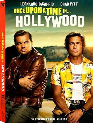 Once Upon A Time In Hollywood - DVD -  Leonardo DiCaprio PRE ORDER for 12/10/19
