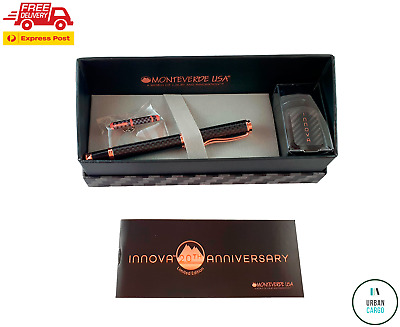 New Monteverede Innova 20th Anniversary Fountain Pen Medium Nib Aus Stock