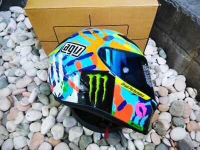 AGV Corsa Misano Hands (Misano 2014) - Made in Italy 🇮🇹  | Rossi VR46