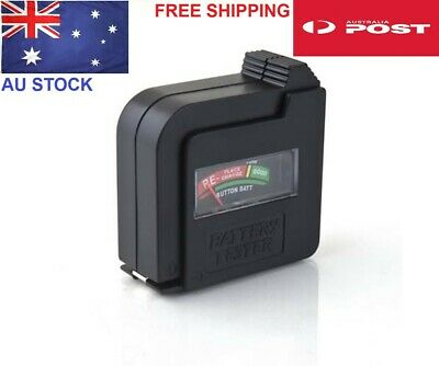 AA/AAA/C/D/9V/1.5V Button Cell Battery Volt Tester Checker AU Stock