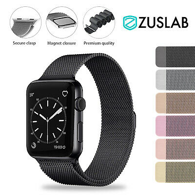 For Apple Watch iWatch Band Series 5 4 3 2 1 Magnetic Stainless Steel Strap
