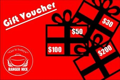 Ranger Nick Gift Voucher - $50.00 value for the Outdoor Enthusiast