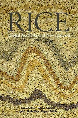 Rice: Global Networks and New Histories by Francesca Bray Paperback Book Free Sh