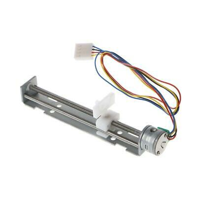 DC 4-9V Drive Stepper Motor Screw with Nut Slider 2 Phase 4 Wire For Laser r