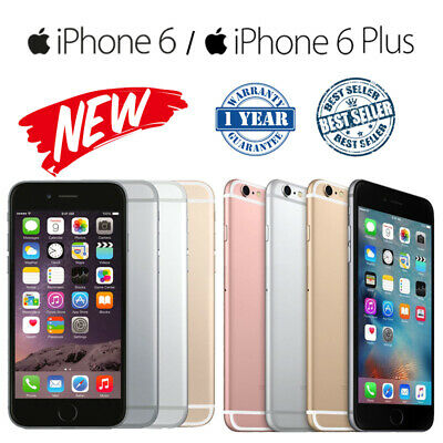 Apple iPhone 6 iphone 6 Plus 16GB 64GB Unlocked Smartphone New Sealed UK