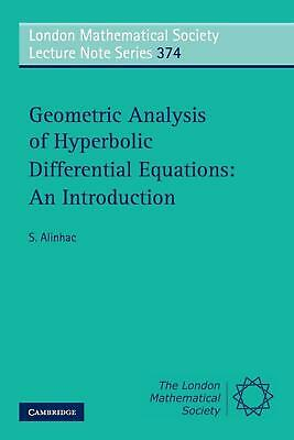 Geometric Analysis of Hyperbolic Differential Equations: An Introduction by S. A