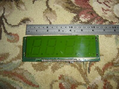 3.5 Cm Digit,Green,Lcd Clock Display, Project, Spares, Repair.