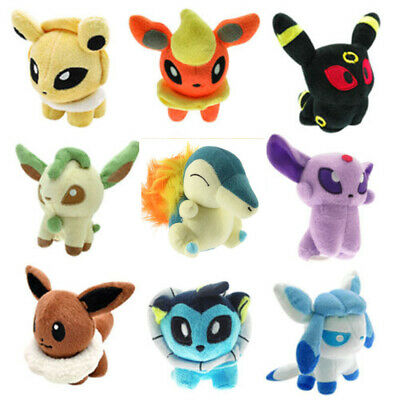 Anime Pokemon Collectible 5'' Plush Character Soft Toy Stuffed Doll Xmas Gift