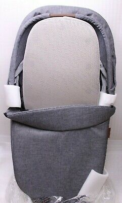 Easywalker Harvey2 Babytragewanne Carrycot Exclusive Gray for Pushchair Buggy
