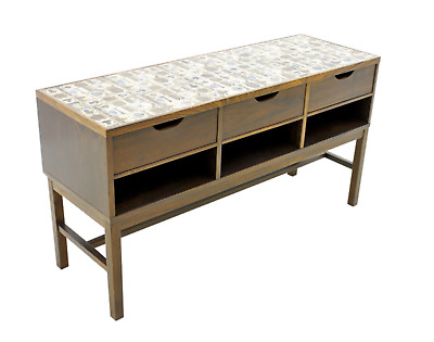 Severin Hansen Cabinet Console Sideboard with Ceramic Top Haslev Denmark