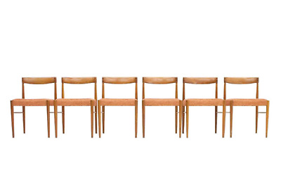 6 x Teak Chairs from H. W. Small for Bramin Dining Chairs Danish Design Vintage