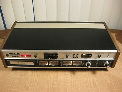 "Akai CR-80D-SS Surround Stereo 8 Track Quadraphonic Recorder & Player ""Serviced"""