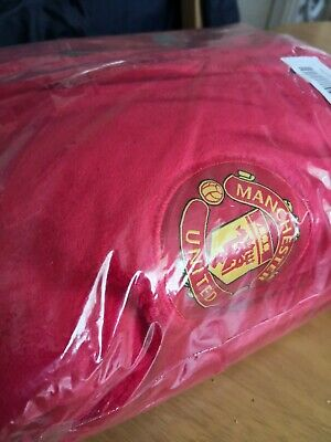 Boys Kids Official Manchester United Red Fleece Dressing Gown  11-12yr New