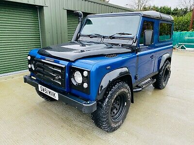 Land Rover Defender 90 TD5 County Forward facing rear seats