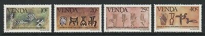 Venda 1984 History of Writing set (3rd series) SG 87-90 Mnh.