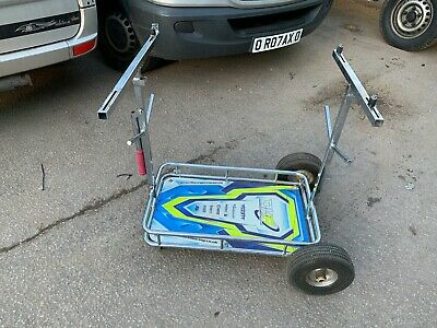 OTK Tony Kart Style 4 Wheel Go-Kart Trolley with Shelf