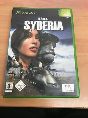 Syberia (Microsoft Xbox, 2003) - European Version
