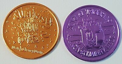 Walt Disney World 20th Anniversary Surprise Parade Coin Token Medallion
