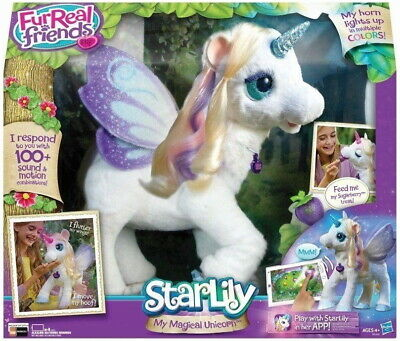 FurReal Friends StarLily My Magical Unicorn [Toys Hasbro Interactive Electronic]