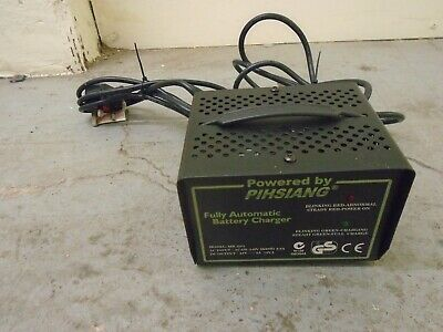 PIHSIANG METAL CASED MOBILITY SCOOTER/POWERCHAIR 24v 3a SLA/GEL BATTERY CHARGER