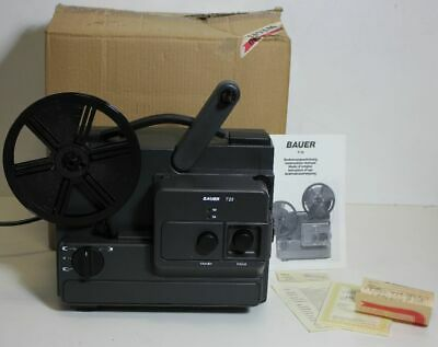 Bauer T 23 Filmprojektor Super 8 / Normal 8 in OVP