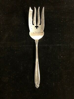 "Sterling Silver International Prelude Cold Meat Fork 9""  84.1 Grams"