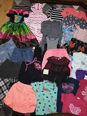 Huge Bundle Of Girls Clothes 7-8years #735 GEORGE NEXT M&S ZARA TU JOULES LEE CO
