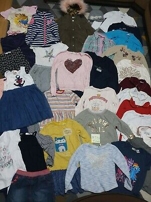 Huge Bundle Of Girls Clothes 5-6years #733 GEORGE NEXT M&S H&M MONSOON ZARA F&F