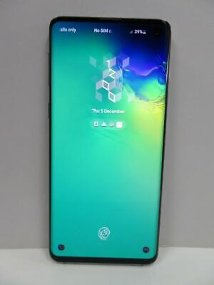 Samsung Galaxy S10 (Sm-G973F) Prism Blue 128Gb Android Smartphone Three