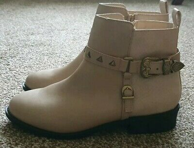 **BNWT** Stunning Girls River Island Winter Christmas Boots Size 3 RRP £25