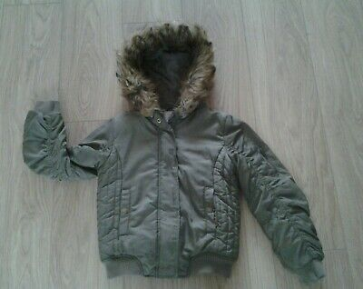 Fab girls NEXT winter jacket size age uk 9 years VERY GOOD CONDITION