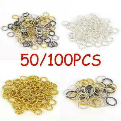 Free Ship 100//500pcs Mixed Double Jump Rings Split Ring Connectors 6x2.5mm