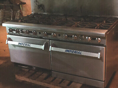 "Imperial 60"" 10 Burner with Ovens"